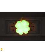 Светодиодный ночник NN-606-LS-GR зеленый ЭРА