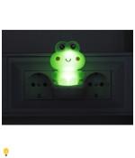 Светодиодный ночник NN-608-SW-GR зеленый ЭРА