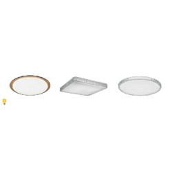 Потолочные светильники с пультом управления