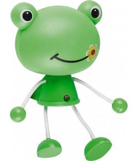 "Светильник-ночник ""лягушка"" 4LED 0,5W 220V зеленый, FN1158"