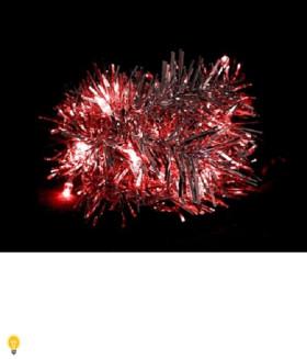 Гирлянда 3V 20 LED красный, 1.2W, 20mA, батарейки 2*АА, IP 20,шнур 0,5м х0,12мм, CL404