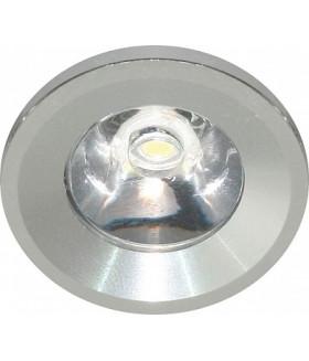 Светильник встраиваемый светодиодный 1W, 230V, круг, G770