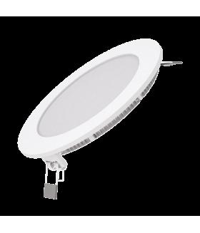 Светодиодный встраиваемый светильник Gauss ультратонкий круглый IP20 18W 4100K 1/20