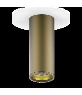 LED светильник накладной HD002 12 (кофе золото) 3000K 79x200мм 1/30