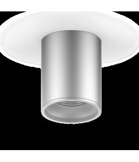LED светильник накладной HD004 12 (хром сатин) 4100K 79x100мм 1/30