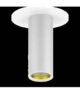 LED светильник накладной HD012 12 (белый золото) 3000K 79x200мм 1/30