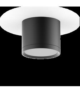LED светильник накладной с рассеивателем HD016 10W (черный) 3000K 88х75мм 1/30