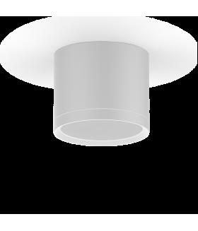 LED светильник накладной с рассеивателем HD025 10W (белый) 3000K 88х75мм 1/30