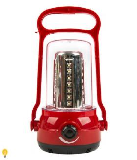 Светодиодный аккумуляторный кемпинговый фонарь 35+6 SMD