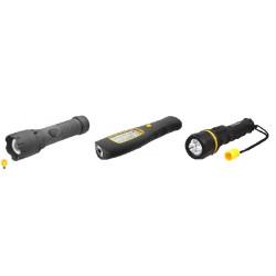 Светодиодные фонари с резиновым покрытием