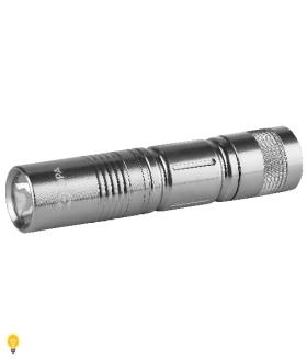 Светодиодный фонарь ЭРА 1x0.5W LED, алюминий, 1хАА, блистер SDB1