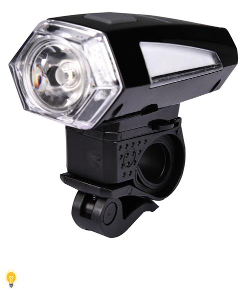 Светодиодная велофара 1 LED (3W ) 3*AAA Smartbuy (SBF-BF03-B)/60