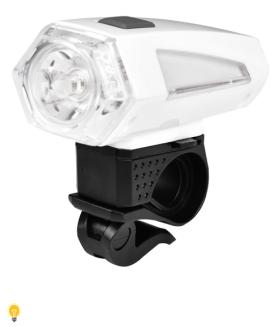 Светодиодная велофара белая 1 LED (3W ) 3*AAA Smartbuy (SBF-BF03-W)/60