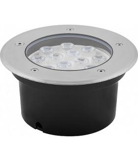 Светильник тротуарный, 12LED RGB, 12W, 180*H90mm, внутренний диаметр: 150mm, IP 67, SP4114, артикул 32023