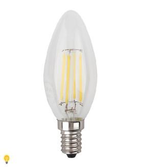 Светодиодная лампа ЭРА F-LED B35-7w-827-E14