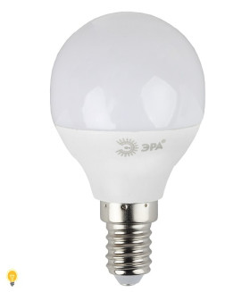 Светодиодная лампа ЭРА LED smd P45-9W-860-E14