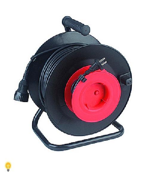 Удлинитель силовой ЭРА пластиковая катушка с заземлением. 20м 1 RP-1-3х0.75-20m
