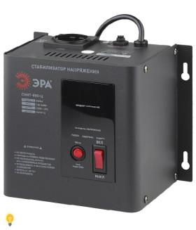 Стабилизатор напряжения настенный, ц.д., 140-260В/220/В, 500ВА СННТ-500-Ц ЭРА