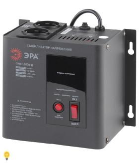 Стабилизатор напряжения настенный, ц.д., 140-260В/220/В, 1000ВА СННТ-1000-Ц ЭРА