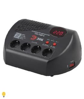 Стабилизатор напряжения компакт, ц.д., 160-260В/220В, 1500ВА, СНК-1500-Ц ЭРА