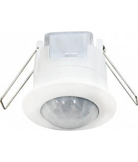 Датчик движения и освещенности 230V 1200W 6m 360° белый SEN86