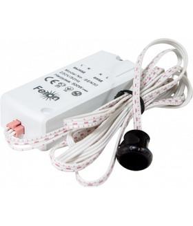 Датчик движения и освещенности 230V 500W 5-8см 30° белый с 1.5м кабелем SEN30, артикул 22068
