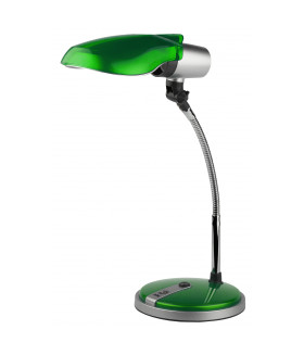 Настольный светильник NE-301-E27-15W-GR зеленый