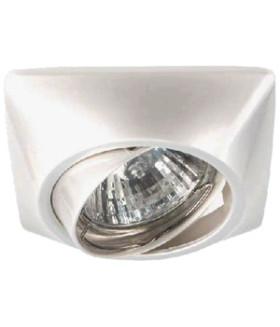 Точечный светильник ЭРА литой поворотный MR16,12V/220V, 50W перламутровое серебро KL64A PS