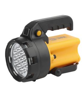 Прожектор АЛЬФА [19xLED, литий 3Ач, ЗУ 220V+12V, карт] PA-602