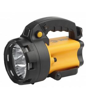 Прожектор АЛЬФА [3x1Вт LED SMD, литий 3Ач, сигнал.св., ЗУ 220V+12V, карт] PA-604