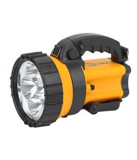 Прожектор АЛЬФА 6x1Вт LED SMD, литий 3Ач, сигнальный свет, ЗУ 220V+12V, карт, PA-605