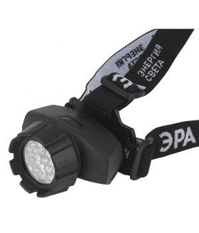 Фонарь ЭРА налобный, 23xLED, 3xAAA, 4 режима, черный, блистеристер GB-605