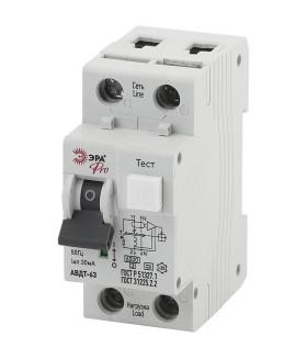 Автоматический выключатель дифференциального тока NO-901-82 АВДТ 63 C16 30мА 1P+N тип A ЭРА Pro