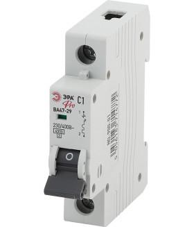 Автоматический выключатель NO-900-06 ВА47-29 1P 4А кривая C ЭРА Pro