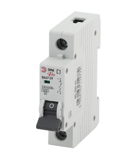 Автоматический выключатель NO-900-10 ВА47-29 1P 10А кривая C ЭРА Pro
