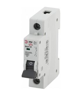 Автоматический выключатель NO-900-14 ВА47-29 1P 25А кривая C 4,5кА ЭРА Pro