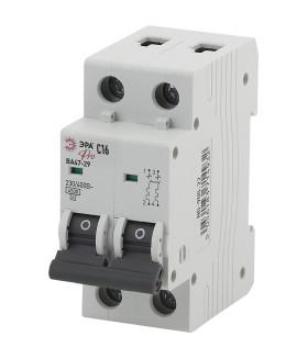 Автоматический выключатель NO-900-29 ВА47-29 2P 20А кривая C ЭРА Pro
