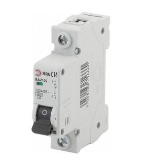 Автоматический выключатель NO-902-102 ВА47-29 1P 16А кривая C ЭРА