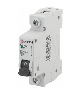 Автоматический выключатель NO-902-107 ВА47-29 1P 50А кривая C ЭРА
