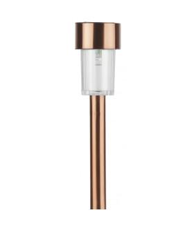 """Садовый светильник на солнечной батарее, нержавеющая сталь, """"медный"""", 32 см SL-SS30-CPR"""