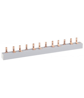 Шина соединительная типа PIN для 4-ф нагр. 63А 54 мод. (10/20/400) ЭРА NO-222-09