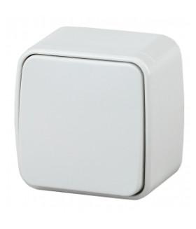 Выключатель, 10А-250В, IP20, ОУ, Polo, белый 3-101-01