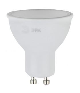 Лампы СВЕТОДИОДНЫЕ СТАНДАРТ ЭРА (диод, софит, 8Вт, тепл, GU10) LED MR16-8W-827-GU10
