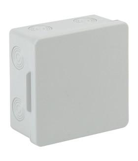 Коробка распаячн. открытой установки КОР 100х100х50мм без гермовводов 8 вх. IP54 ЭРА