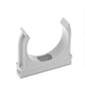 Крепеж-клипса ЭРА (cерый) для трубы d 40мм CLIP-40