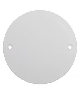 Крышка для установочной коробки D68, белая KUK-68-white