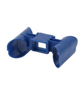 Кабель-канал соединительный для установочных коробок KKS-blue