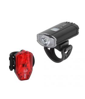 Фонарь ЭРА Вело 2 в 1 Основной CREE XPG + подсветка SMD, mocro USB, 800mA/ч., бл VA-801 Фонарь ЭРА