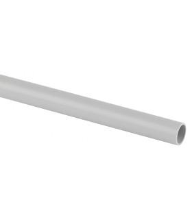Труба гладкая ЭРА жесткая (серый) ПВХ d 16мм (2м) TRUB-16-2-PVC