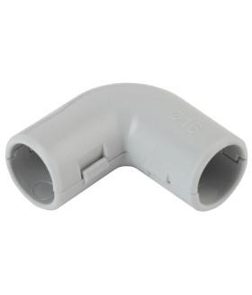 Угол 90 гр.(серый) соединительный для трубы 16мм (10шт) UG-16